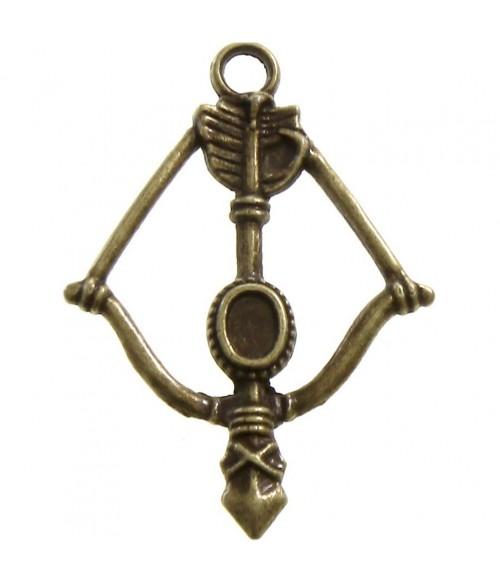 Breloque pendentif Tir à l'arc (5 pièces)