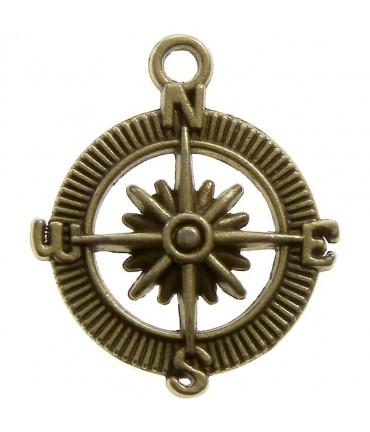 Breloque pendentif Boussole nswe (5 pièces)