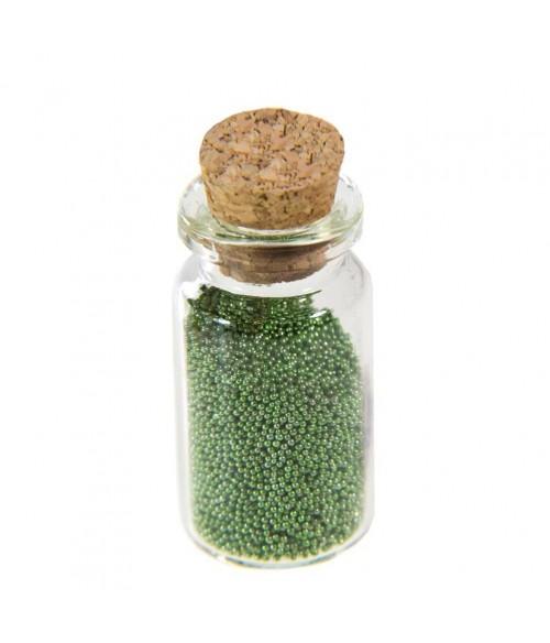 Microbilles caviar irisées en fiole