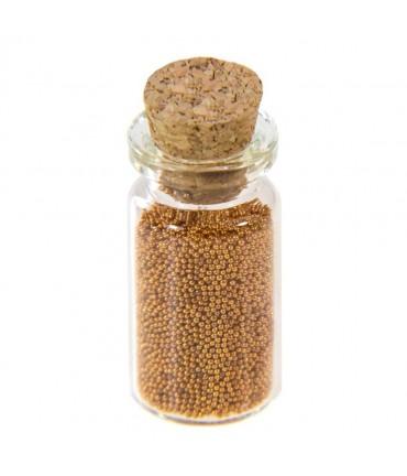 Microbilles caviar irisées en fiole - Cuivre