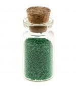 Microbilles caviar irisées en fiole - Vert