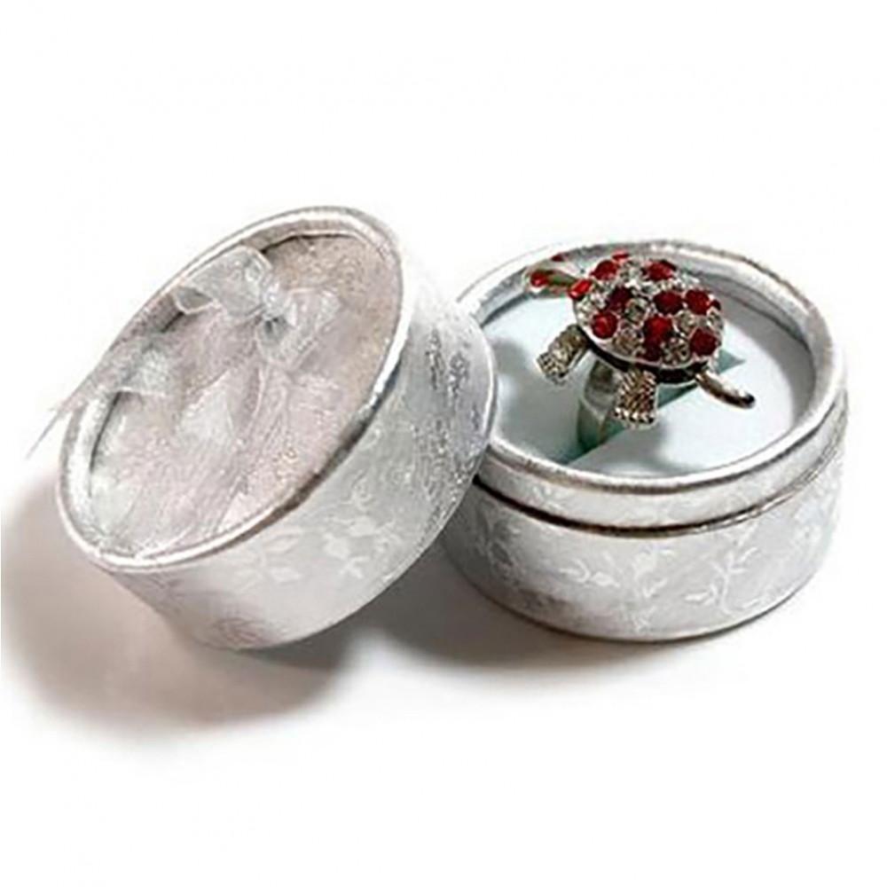 ecrin bague boite cadeau ronde pour bijoux. Black Bedroom Furniture Sets. Home Design Ideas