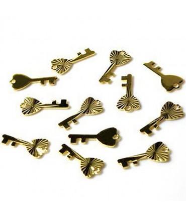 Breloque pendentif Clef ciselée (50 pièces)