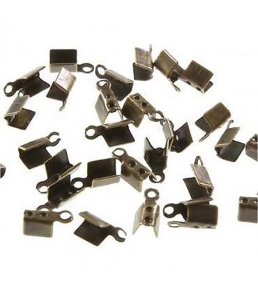 Embouts de serrage pour fil de 1,5 mm (100 pièces) - Bronze