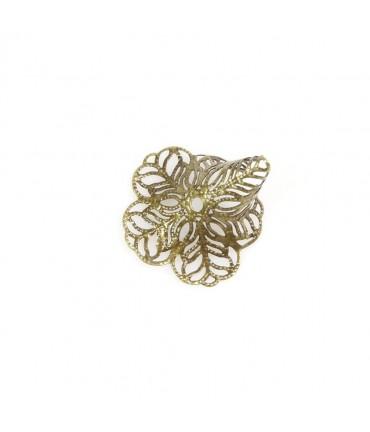 Calottes coupelles en filigrane (10 pièces) - Bronze