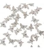 Perles fantaisie Papillon (5 pièces)