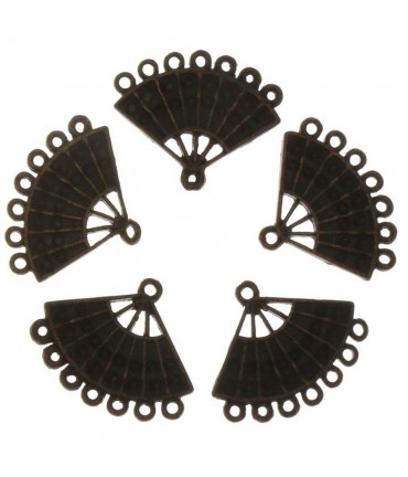 Connecteur chandelier Eventail (5 pièces) - Cuivre
