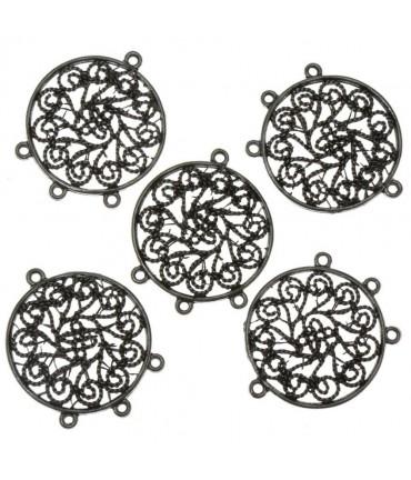 Connecteur chandelier Attrape rêves (5 pièces) - Gris