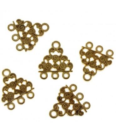 Connecteur chandelier Triangle (5 pièces)