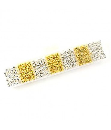 Perles intercalaires kit 2 couleurs et plusieurs dimensions