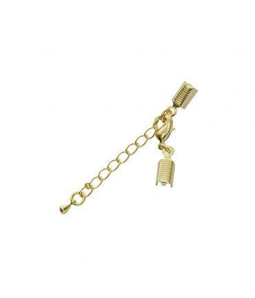Kit fermeture bracelet collier ruban cordon 50 mm (5 pièces)