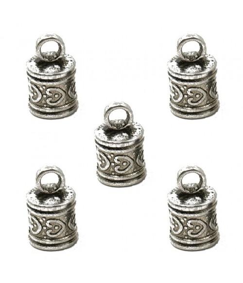 Embout pour cordon et fil Tibétain 16 x 10 mm (5 pièces)