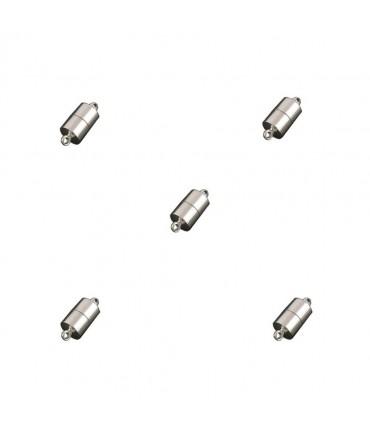 Fermoir magnétique Cylindre 16 x 6 mm (5 pièces)
