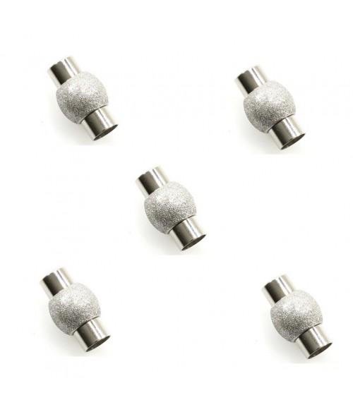 Fermoir aimanté Design Paillettes 19 x 11 mm (5 pièces)