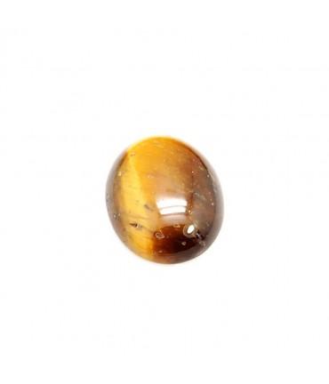 Pierre semi précieuse Oeil De Tigre 16 x 12 mm (1 pièce) - Marron