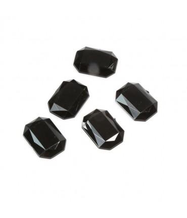 Cabochon strass acrylique Precious 25 x 18 mm (5 pièces)
