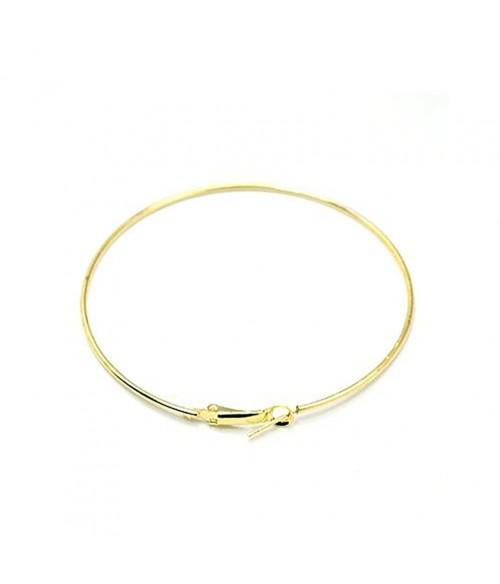 Boucle d'oreille créole support bijoux 49 mm (2 pièces)