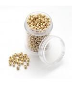Perles de rocaille rondes Iris Round 2,5 mm (1600 pièces) - Jaune clair
