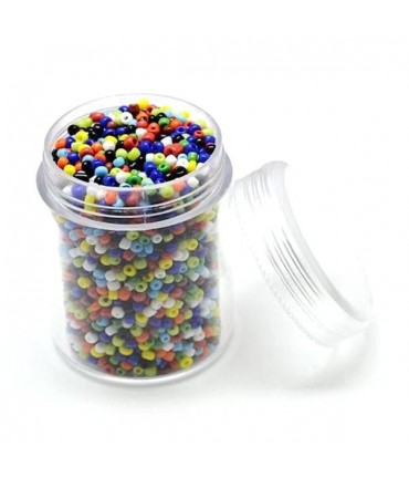 Perles de rocaille intercalaires 1,7 mm (3000 pièces)