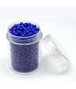 Perles de rocaille intercalaires 3,5 mm (550 pièces) - Bleu