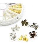Kit embouts pour cordon et fil 6 x 3 mm (420 pièces)
