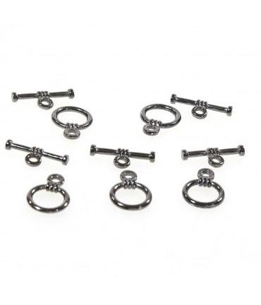Fermoir t toggle Matelot pour bijoux 9 mm (10 pièces)