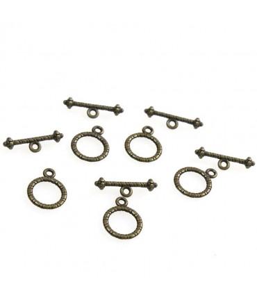 Fermoir t toggle Sceau 13 mm (10 pièces)