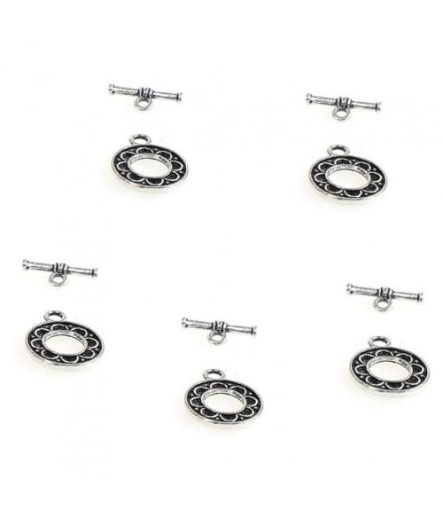 Fermoir t toggle Orient pour bijoux 16 mm (10 pièces)