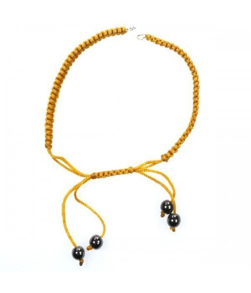 Bracelet en nylon tressé pour création (1 pièce)