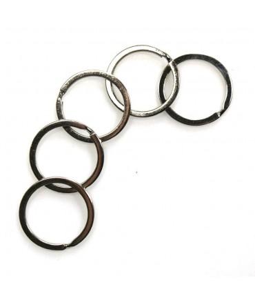 Anneaux support porte clé  27 mm (5 pièces)