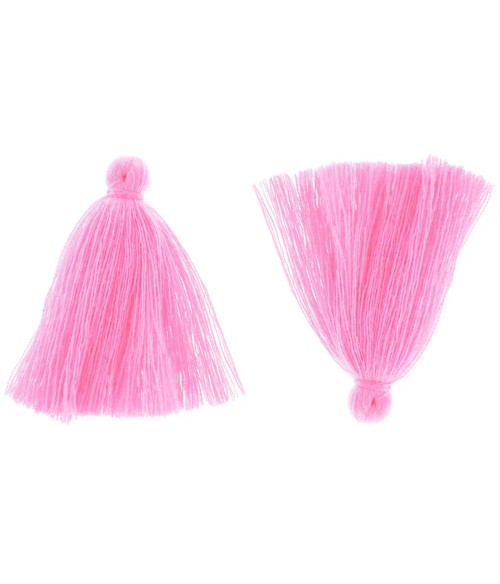 Pompons en coton pour la création de bijoux 30 mm (5 pièces)