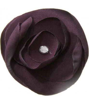 Fleur en tissu pour la création de bijoux et accessoires (5 pièces)