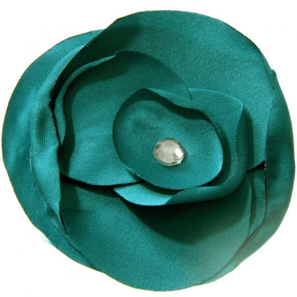 fleur en tissu coudre ou coller accessoire bijoux. Black Bedroom Furniture Sets. Home Design Ideas