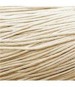 Fil coton ciré 1,5 mm (10 mètres) - Beige