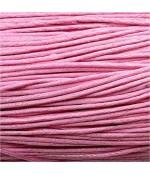 Fil coton ciré 2 mm (10 mètres) - Rose clair