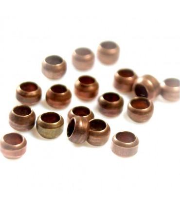 Perles à écraser 2,5 mm ( 200 Pièces ) - Cuivre