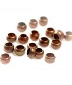 Perles à écraser 3 mm ( 200 Pièces ) - Cuivre