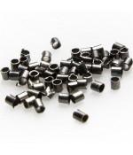 Perles à écraser forme tube 1.5 mm ( 200 Pièces )