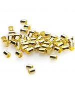 Perles à écraser forme tube 2 mm ( 200 Pièces )