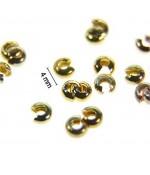 Cache Perles À Écraser ( 100 Pièces ) ( 3 Mm De Diamètre )