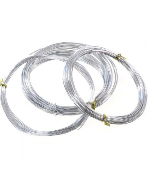 Fil aluminium pour bijoux 2 mm ( 5 Mètres )