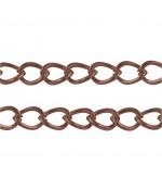Chaine Au Mètre Maille Cheval 5 X 3 Mm ( 3 Mètre De Longueur )