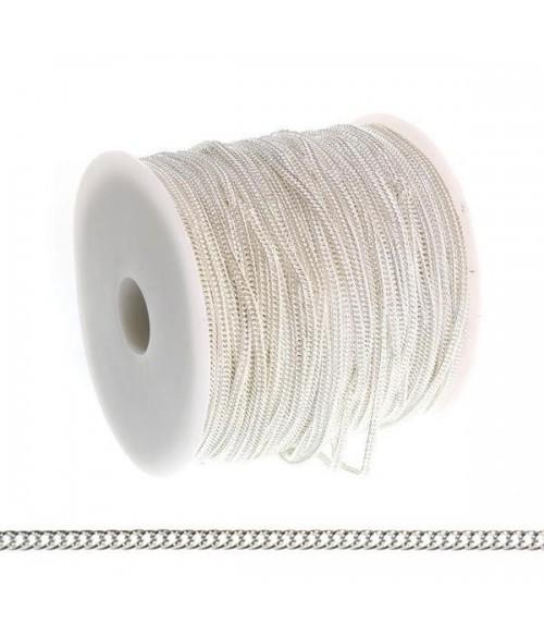 Chaine Au Mètre Maille Cheval 4 X 3 Mm ( 1 Mètre De Longueur )