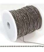Chaine À Billes 1 Mm ( 1 Mètre De Longueur )