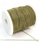 Chaine à billes 1,5 mm (1 mètre)