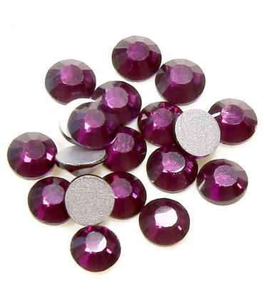 Strass bijoux à coller 4,6 mm lot de  20 pièces - Violet