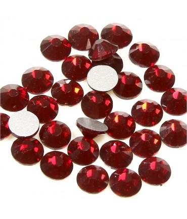 Strass bijoux à coller 4,6 mm lot de  20 pièces - Bordeaux