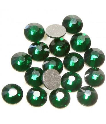 Strass bijoux à coller 4,6 mm lot de  20 pièces - Emeraude