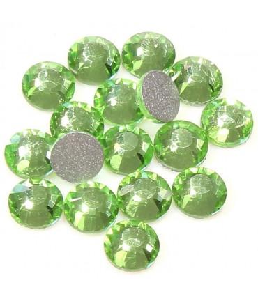 Strass bijoux à coller 4,6 mm lot de  20 pièces - Vert clair