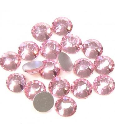 Strass bijoux à coller 4,6 mm lot de  20 pièces - Rose